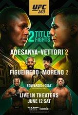 UFC 263 Movie Poster