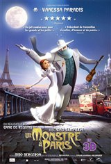 Un monstre à Paris Affiche de film