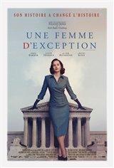 Une femme d'exception Affiche de film