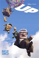 Up in Disney Digital 3D Movie Poster
