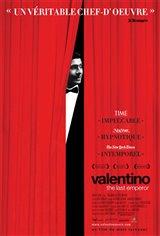 Valentino: The Last Emperor Movie Poster