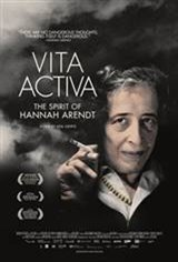 Vita Activa, The Spirit of Hannah Arendt Movie Poster