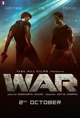 War (Hindi) Large Poster