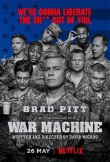 War Machine (Netflix) Poster