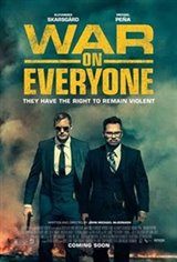 War on Everyone Large Poster