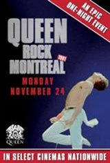 We Will Rock You: Queen Live in Concert (Montreal) Movie Poster