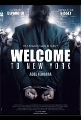 Welcome to New York (2014) Movie Poster