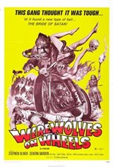 Werewolves on Wheels Movie Poster