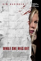 While She Was Out Movie Poster