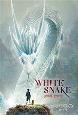 White Snake Large Poster