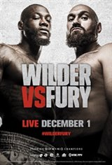 Wilder vs Fury Large Poster