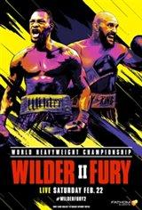 Wilder vs. Fury II Movie Poster