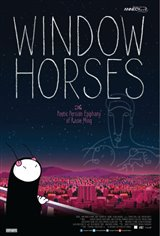 Window Horses Large Poster