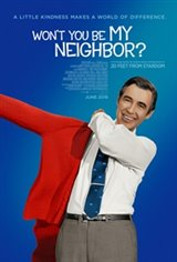 Won't You Be My Neighbor? Large Poster