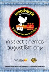 Woodstock: 3 Days of Peace and Music - The Director's Cut (select cities) Poster