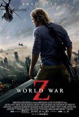 World War Z 3D Movie Poster
