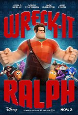 Wreck-It Ralph 3D Movie Poster