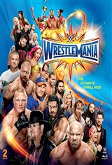 WWE Wrestlemania 33 Movie Poster Movie Poster