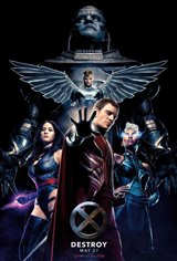 X-Men: Apocalypse 3D Movie Poster