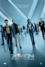 X-Men: First Class Movie Poster Movie Poster