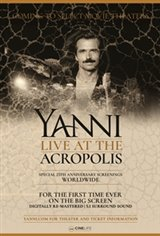 Yanni Live at the Acropolis Large Poster