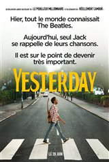 Yesterday (v.f.) Movie Poster