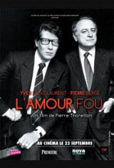 YSL: L'amour fou Movie Poster Movie Poster