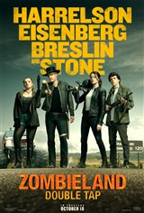 Zombieland: Double Tap Movie Poster Movie Poster