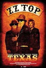 ZZ Top: That Little Ol' Band From Texas Movie Poster