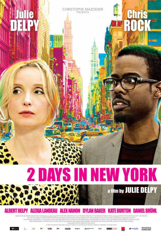 2 Days in New York Large Poster