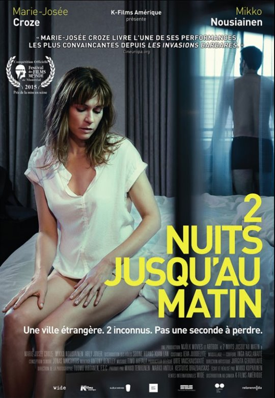 2 nuits jusqu'au matin (v.o.s.-t.f.) Large Poster