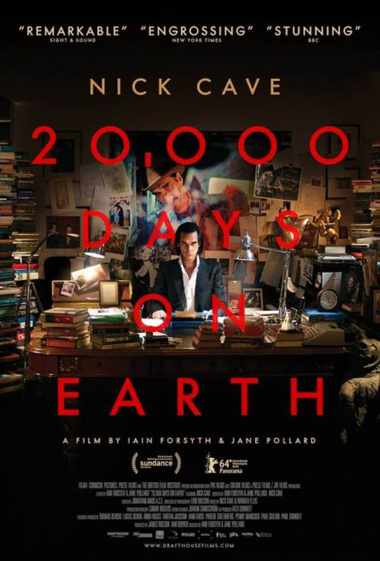 20,000 Days on Earth Large Poster