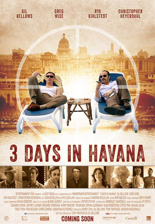3 Days in Havana Large Poster