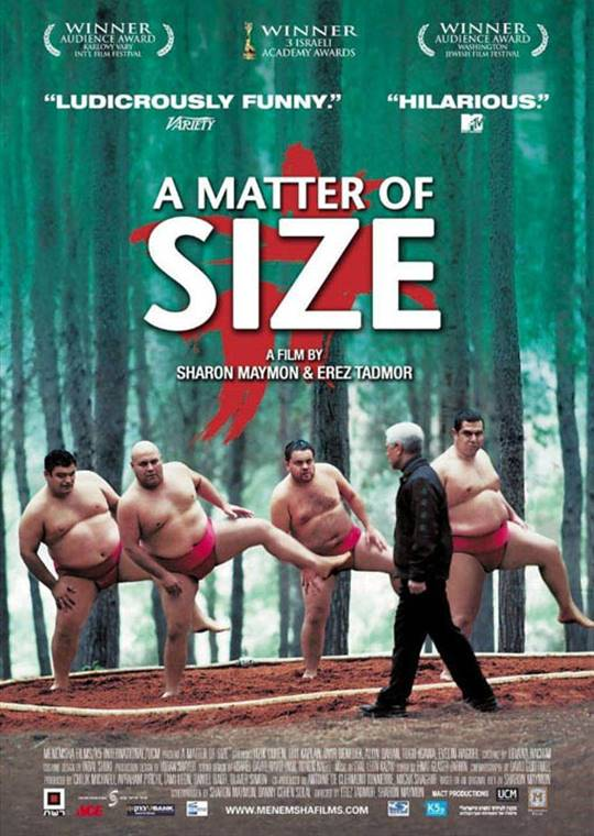 A Matter of Size Large Poster