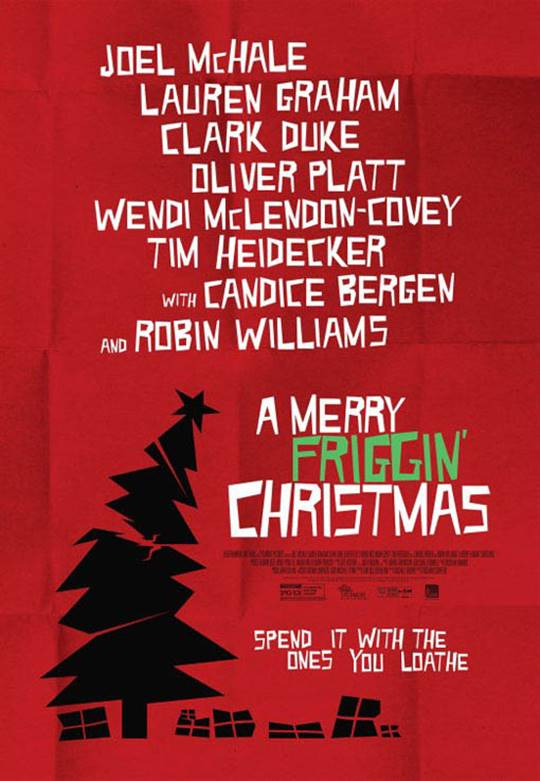 A Merry Friggin' Christmas Large Poster