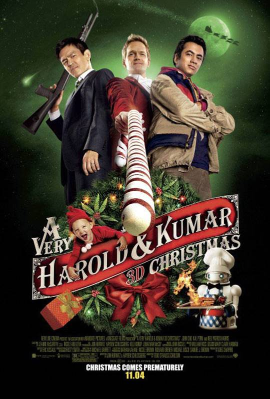 A Very Harold & Kumar Christmas Large Poster