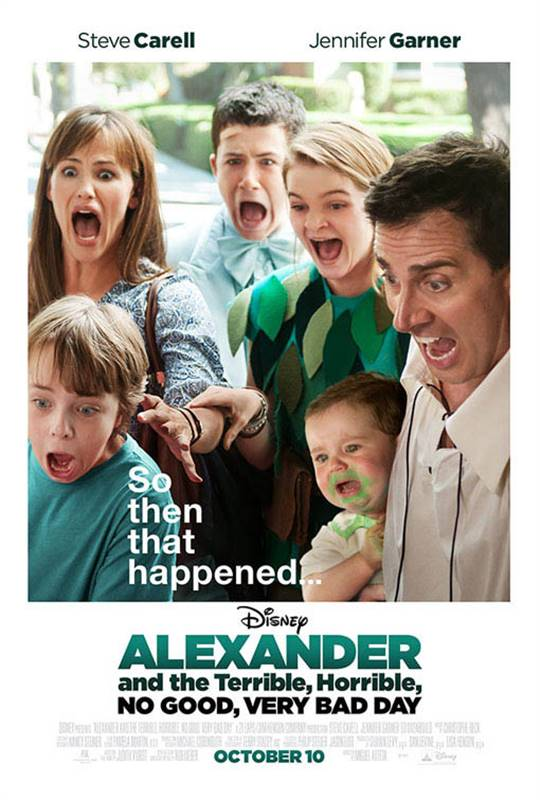 Alexander and the Terrible, Horrible, No Good, Very Bad Day Large Poster