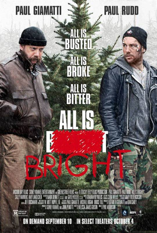 All is Bright Large Poster