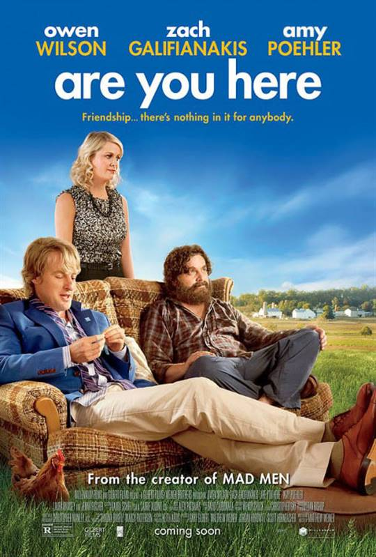 Are You Here Large Poster
