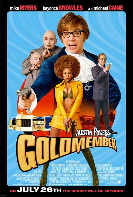 Austin Powers in Goldmember Large Poster