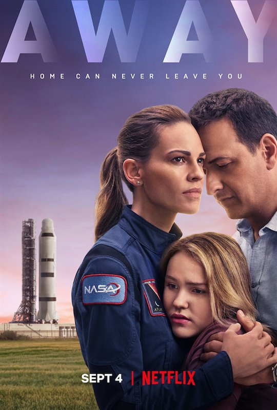 Away (Netflix) Large Poster
