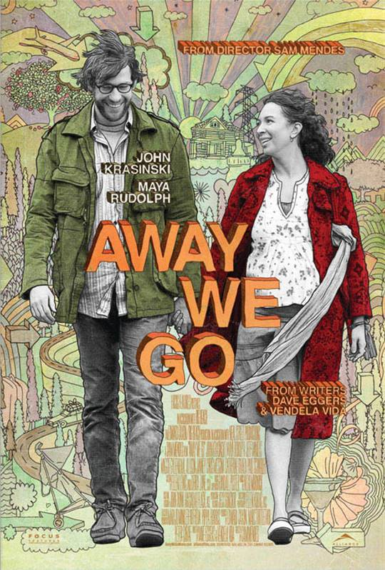 Away We Go Large Poster