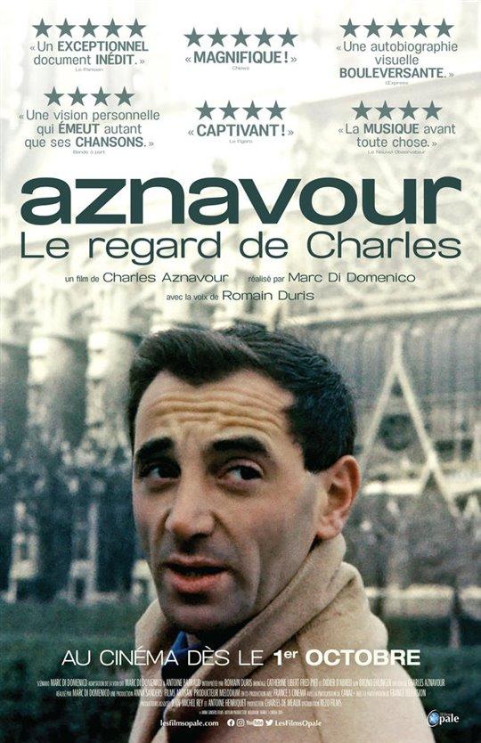 Aznavour, le regard de Charles Large Poster