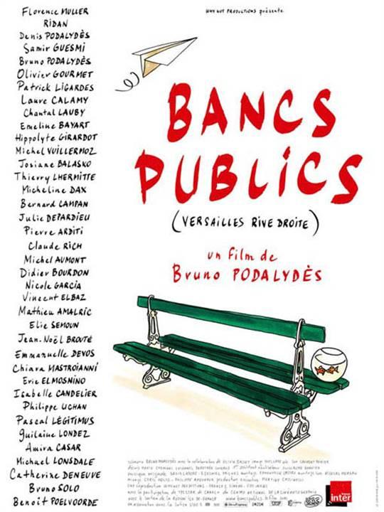 Bancs publics (Versailles rive droite) (v.f.)  Large Poster