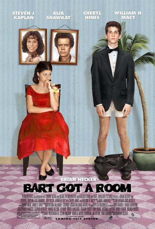 Bart Got a Room Large Poster