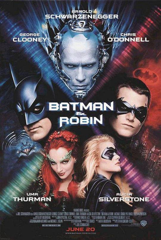 Batman & Robin Large Poster