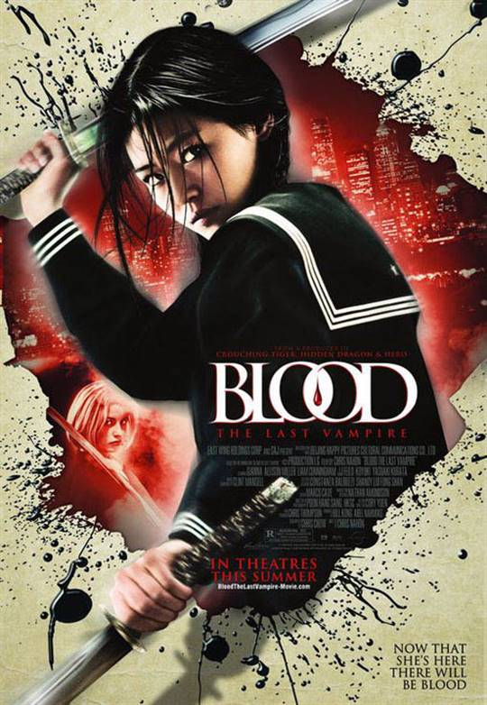 Blood: The Last Vampire Large Poster
