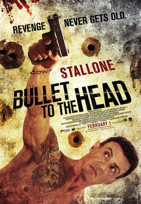 Bullet to the Head Large Poster