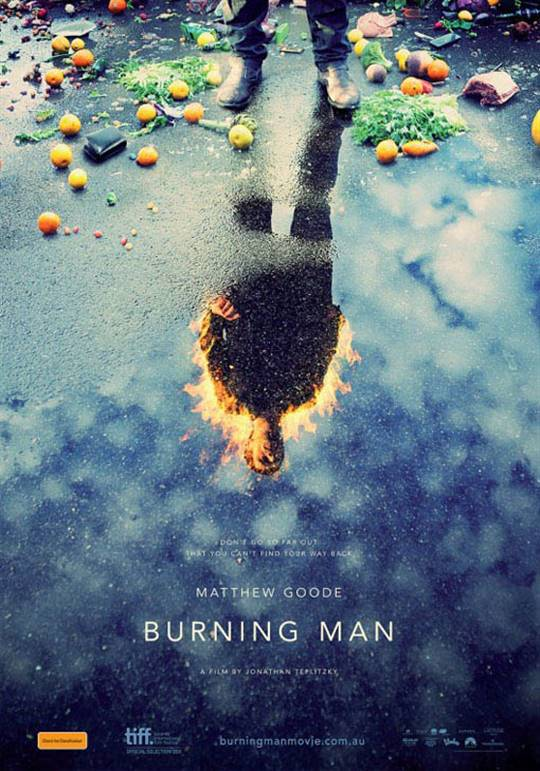 Burning Man Large Poster