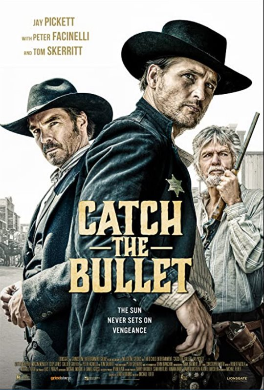 Catch the Bullet Large Poster